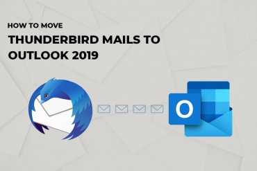 How to move Thunderbird-mails to Outlook-2019